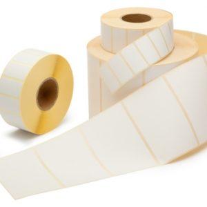 Thermisch Etiket 57x32 wit voor Dymo 11354 - Permanent-0
