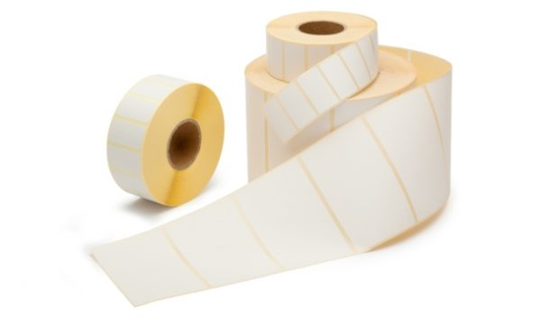 Thermisch Etiket 54x101 wit voor Dymo 99014 - Permanent-0