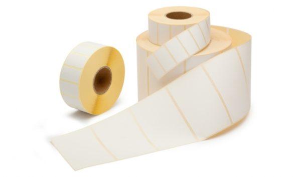 Thermisch Etiket 36x89 wit voor Dymo 99012 - Permanent-0