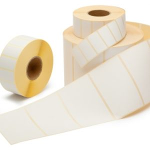 Thermisch Etiket 28x89 wit voor Dymo 99010 - Permanent-0